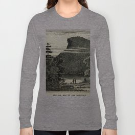 The Old Man of the Mountain Long Sleeve T-shirt
