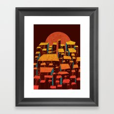 Urbano Framed Art Print