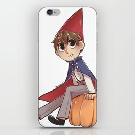 Over the Garden Wall Wirt iPhone Skin