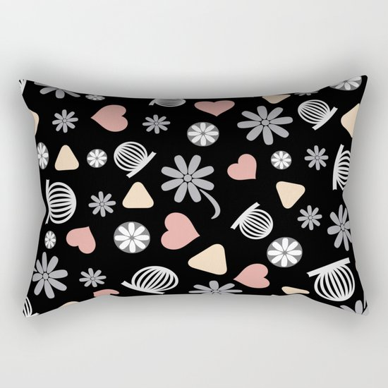 Lovely Pattern VII Rectangular Pillow