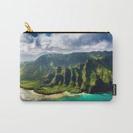 Island of Kauai, Hawaiian Islands Carry-All Pouch