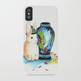 Lapin Chinoiserie iPhone Case