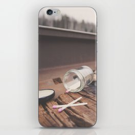 Seven Matches iPhone Skin