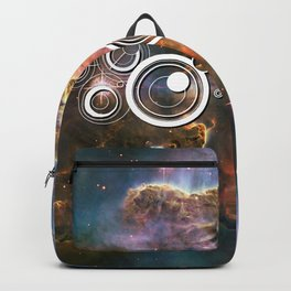 Doctor Who Timey-Wimey with the Carina Nebula Backpack