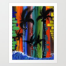 """""""COLOR IN PARADISE""""  Art Print"""