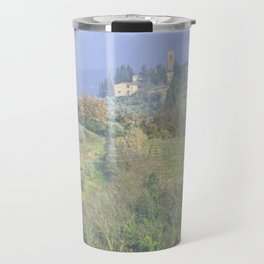 Vineyards Tuscany - Italy - Landscape and Rural Art Photography Travel Mug