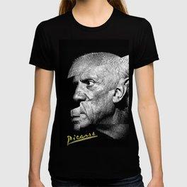 Pablo Picasso Cubism Collage T-shirt