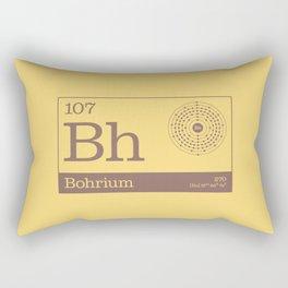 Periodic Elements - 107 Bohrium (Bh) Rectangular Pillow