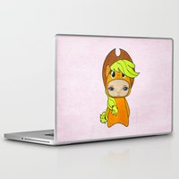 mlp Laptop & iPad Skins featuring A Boy - Applejack by Christophe Chiozzi