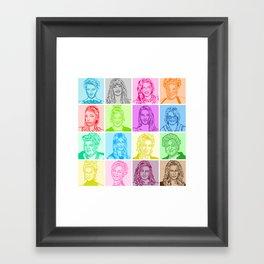 Glee Framed Art Print