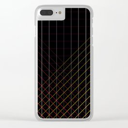 Strokes Clear iPhone Case