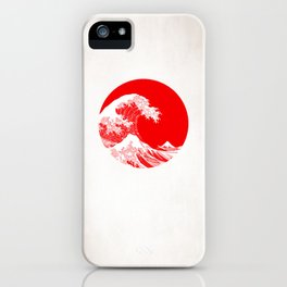 Hokusai great wave of Kanagawa iPhone Case