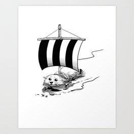 Corgo Ship Art Print