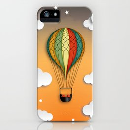 Balloon Aeronautics Dawn iPhone Case