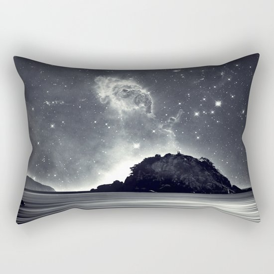 Island in the sea of eternity Rectangular Pillow