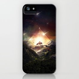 The Glass Mountain iPhone Case