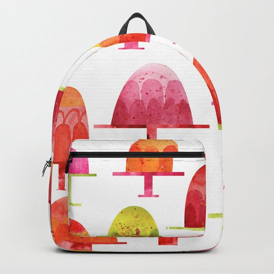 Jellies on Plates Backpack