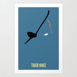 Sagat - Tiger Art Print