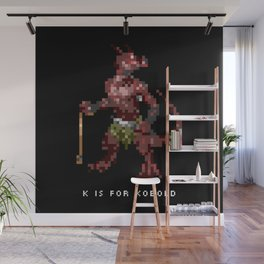 K is for Kobold Wall Mural