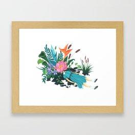 Niederungen Framed Art Print