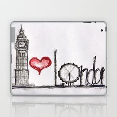 I love London Laptop & iPad Skin