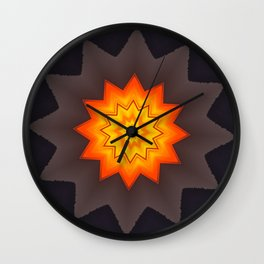 Sunstar Wall Clock