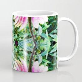 208 - abstract flower design Coffee Mug