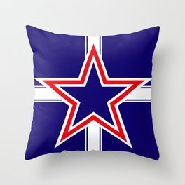 Southern Cross flag  Throw Pillow