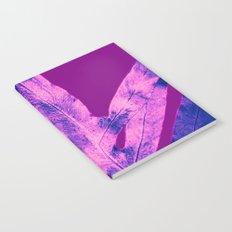 Purple Fern Blue Rain Notebook