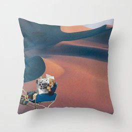 The Worst is Yet to Come Throw Pillow