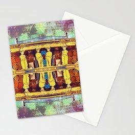 Caryatid Mirror Stationery Cards