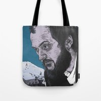 kubrick Tote Bags featuring Stanley Kubrick by Andy Christofi
