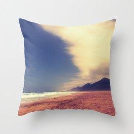 Cofete - Furteventura Throw Pillow