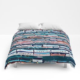 Cool patterns ~ Train Jam Comforters