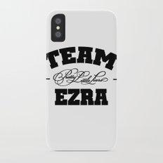 PLL - Team Ezra Pretty Little Liars Slim Case iPhone X
