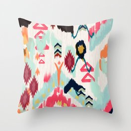 Bohemian Ethnic Painting Throw Pillow