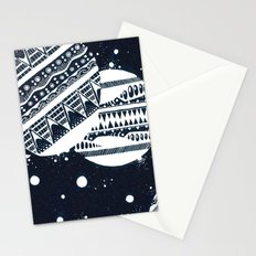 Pattern Doodle One (Invert) Stationery Cards
