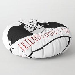 Friends Don't Lie Floor Pillow