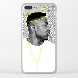 King Kendrick Clear iPhone Case