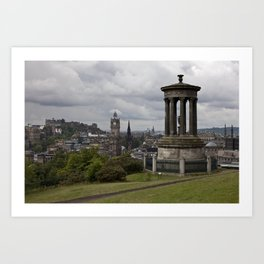 View from Calton Hill Art Print