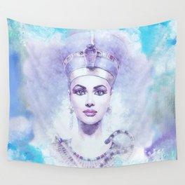 Nefertiti-The Beautiful Woman Has Come Wall Tapestry