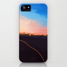Leaving Philly Last Summer iPhone Case