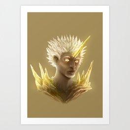 Crystal Contamination 1 Art Print
