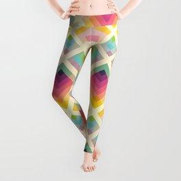 Retro Rainbow Leggings