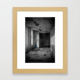A Ghostly Apparition Framed Art Print