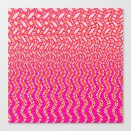 Pink Tangerine Twist Canvas Print