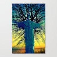 jesus Canvas Prints featuring jesus by  Agostino Lo Coco