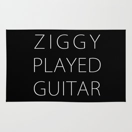 ZIGGY PLAYED GUITAR #NEW Rug
