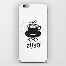 Cafe Zuno iPhone Skin