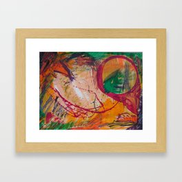 """Autumn-Tease"" Framed Art Print"